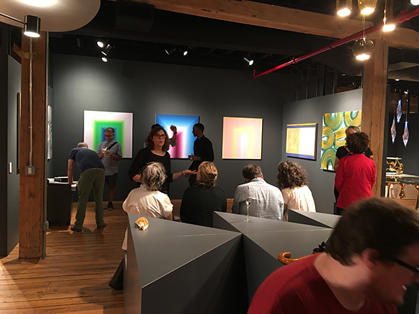 Closing reception of Radiant
